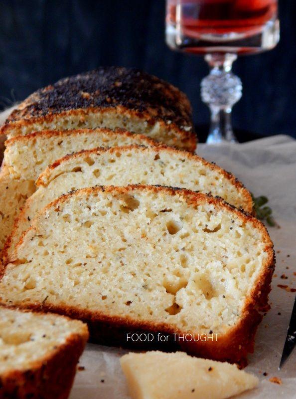 Food for thought: Αλμυρό κέικ παρμεζάνας, μυρωδικών και σκόρδου