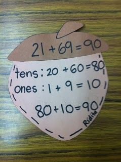 FREEBIE:Acorn craftivity and practice pages to teach mental math addition strategies.