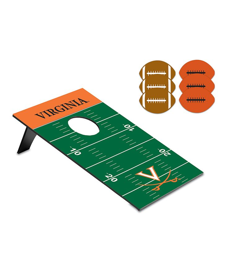 Virginia Football Bean Bag Throw Game