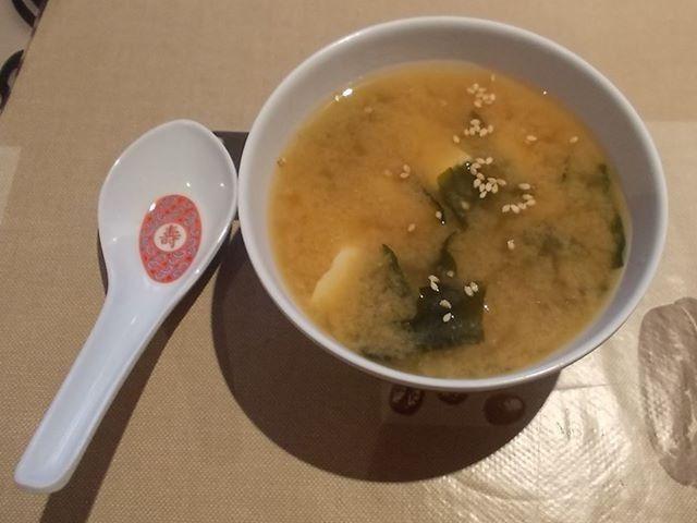 Miso-Suppe - alles vegan