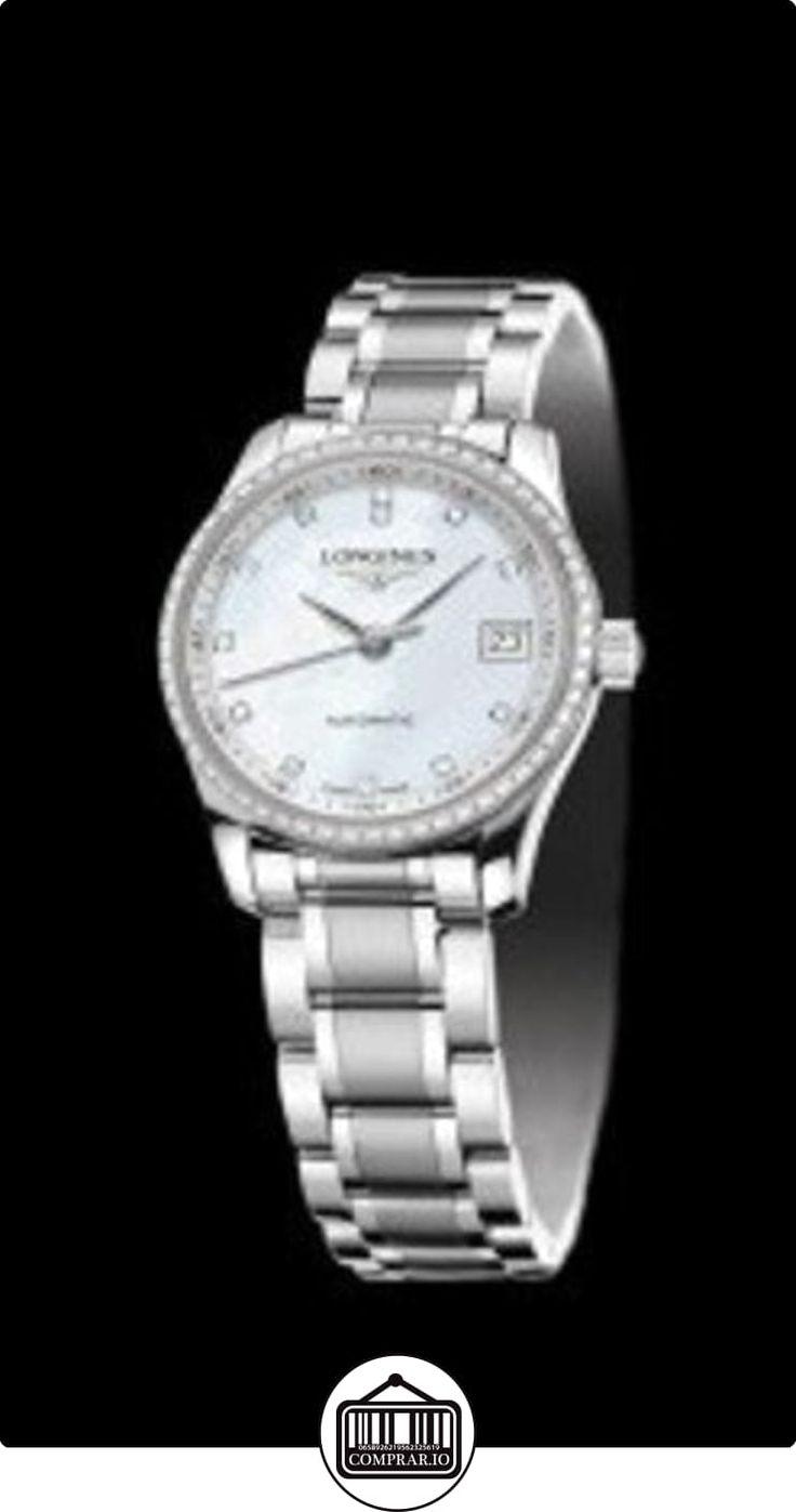 Diseño longitudinal en el cepillado y pulido de acero inoxidable de la perla madre de Diamante que se utiliza para los marcadores y el reloj de las mujeres del diamante  ✿ Relojes para mujer - (Lujo) ✿