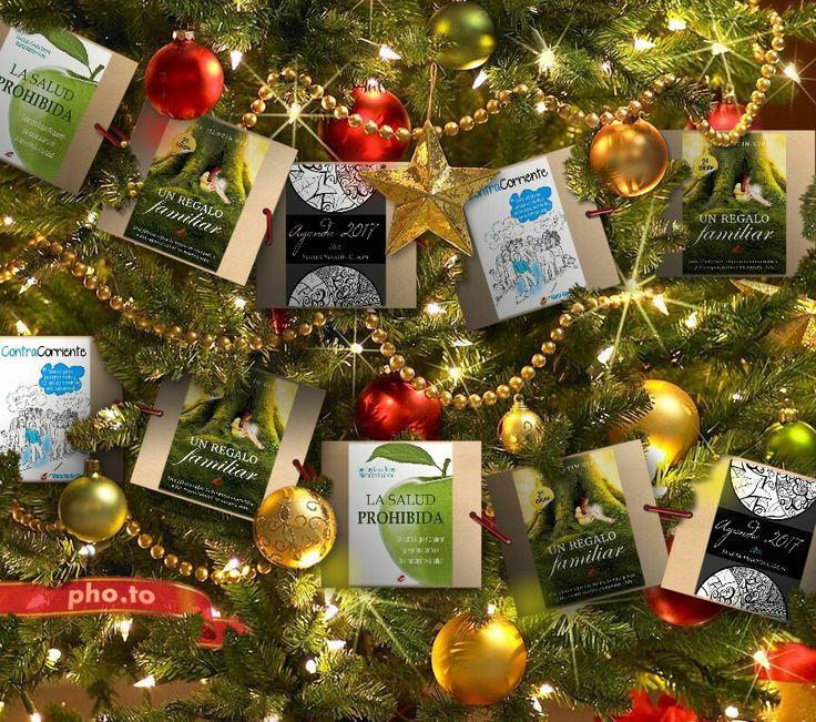 ¿Preparando el árbol de Navidad? ¿Pensando en qué regalar?   #Regala historias para el cuerpo, la mente y el espíritu. *Arte. Agenda 2017. *Un regalo familiar. *Contracorriente. *La salud prohibida.  #Amazon #libros #desarrollopersonal #UnRegaloFamiliar #ContraCorriente #LaSaludProhibida #consciencia #transgeneracional #bioneuroemocion #biodescodificacion #ancestros #arbolgenealogico #arboldenavidad #regalos #agenda #agenda2017 #arte #citas #frases #cuadros #ilustraciones