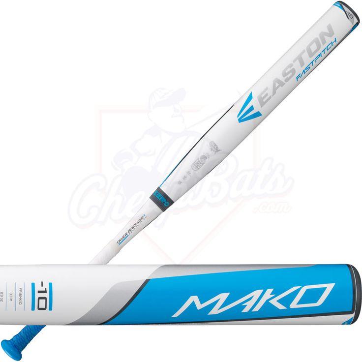 2016 Easton MAKO Fastpitch Softball Bat Balanced -10oz FP16MK10