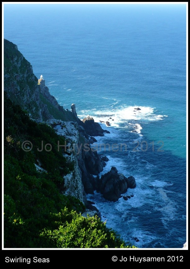 Another view of Cape Point with the other lighthouse peeking back