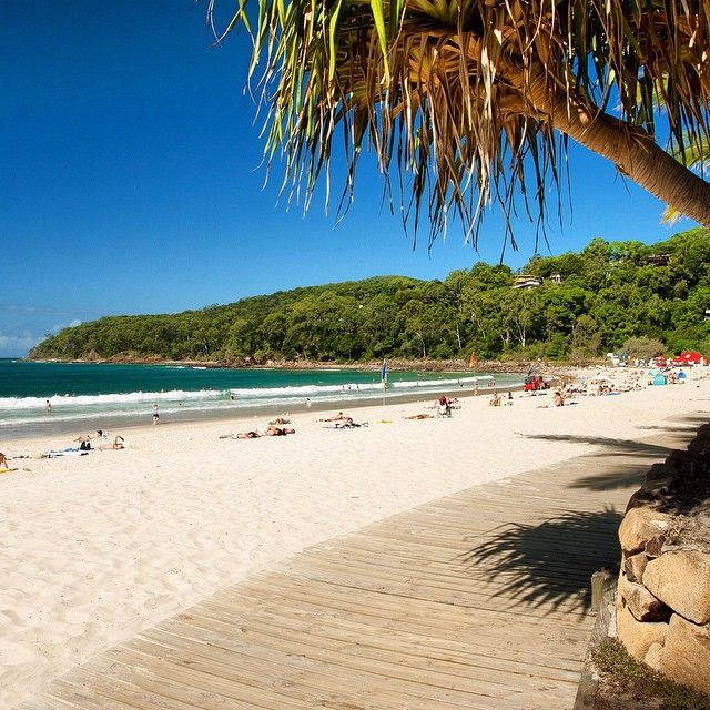 Noosa Main beach. Just one of the many reasons we moved back to Noosa... Yes just luv it..thousands visit each year, we are fortunate enough to call Noosa home !!!