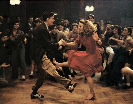 "Swing dance scene from the film ""Swing Kids"""