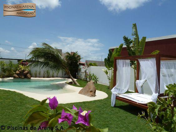 18 best piscinas de arena en el extranjero images on pinterest luxury pools pool construction - Piscinas de arena natursand ...