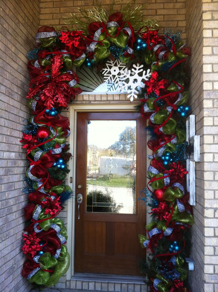 64 Best Images About Deco Mesh Door Garland Ideas On