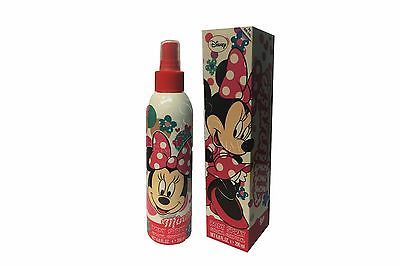 Disney Minnie Mouse by Air-Val 6.8oz/200ml Eau De Cologne Body Spray for Girls