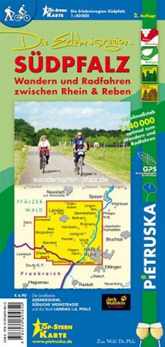 Südpfalz Wanderkarte 1:40.000