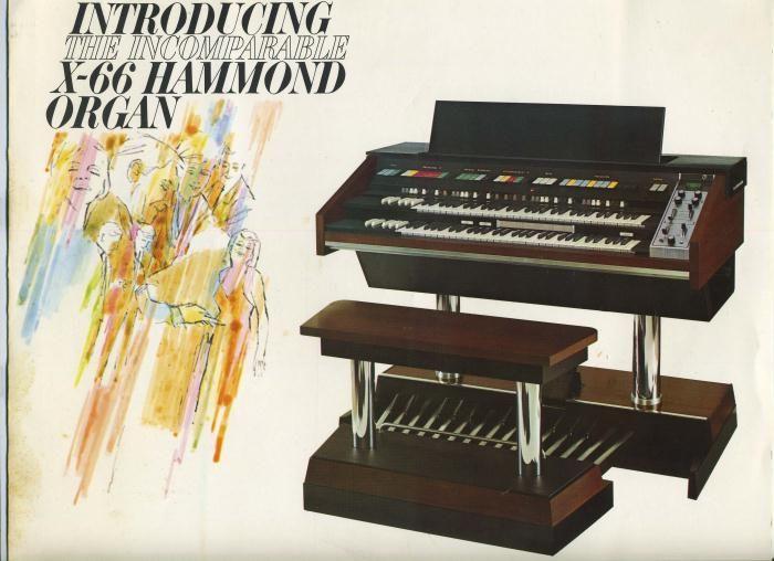 X66 Hammond Organ Sale Hammond Organ X 66 Introductory