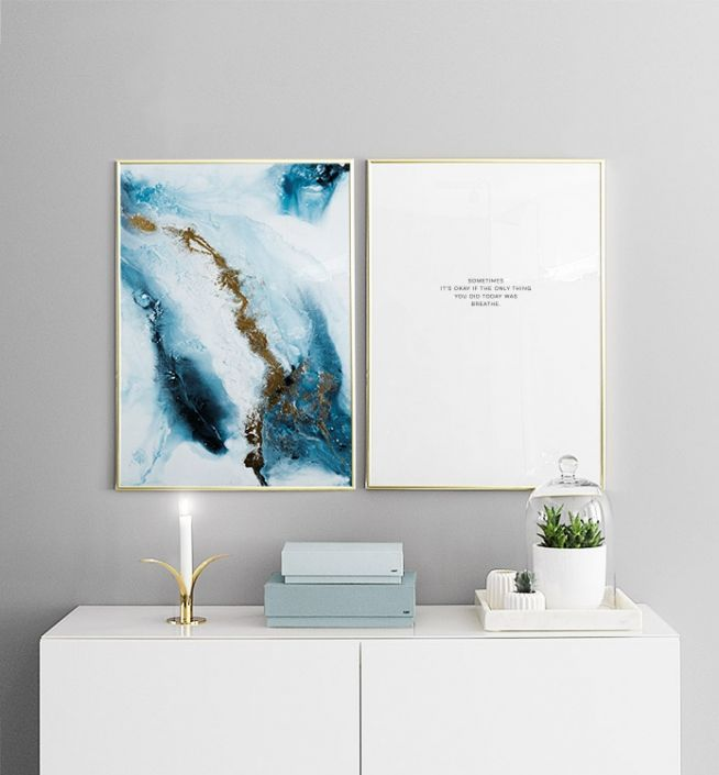 Stilfuld posters og plakater over sengen eller sofaen | Nice plakater i par