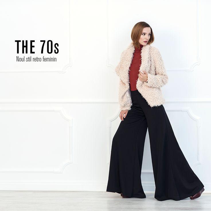 Rochii cu imprimeuri delicate, topuri vaporoase cu broderii, jeansi evazati si jachete calduroase cu volum, toate piesele incluse in trendul THE '70S te vor inspira astazi! ✔ CUMPARA ACUM >> http://goo.gl/9rxeo3  #FashionDays #inspiringchange #FW15 #TrendReport
