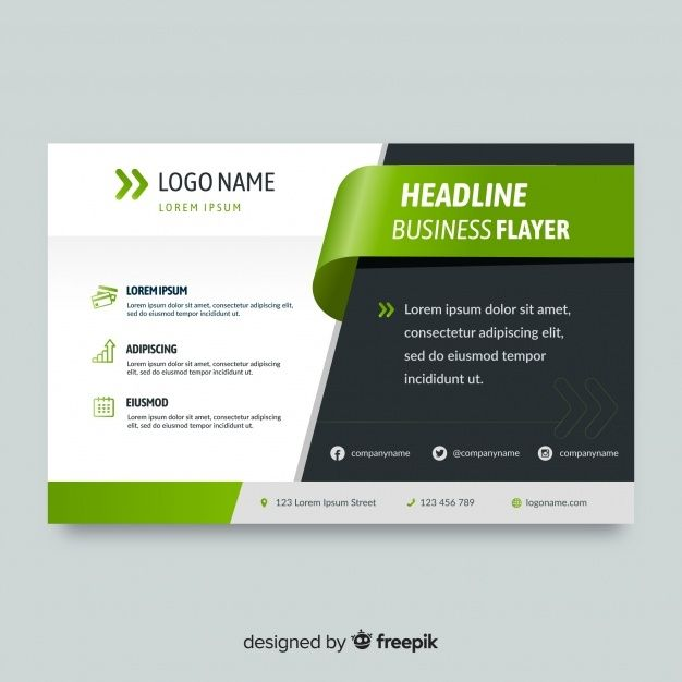 Flyer Template Vectors Photos And Psd Files Free Download In 2020 Free Flyer Design Flyer Design Templates Business Flyer Templates