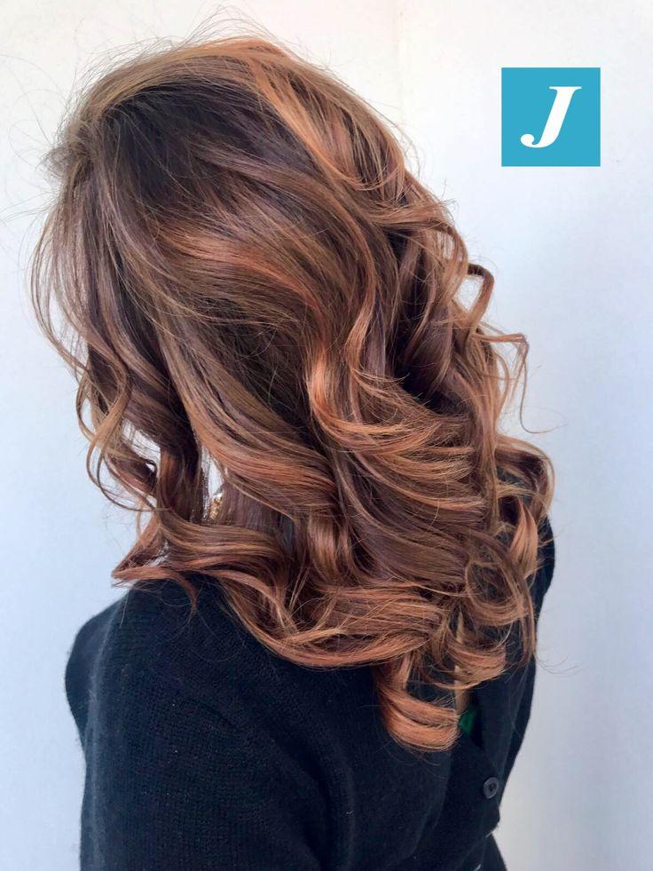 Sfumature Oro Rosa _ Degradé Joelle #cdj #degradejoelle #tagliopuntearia #degradé #igers #musthave #hair #hairstyle #haircolour #longhair #ootd #hairfashion #madeinitaly #wellastudionyc