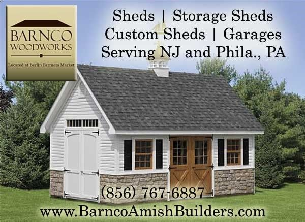 Stylish Storage Sheds Builders in NJ:- We have many different styles of sheds to choose from, A-frames, barn style, carriage house style and more, we have a shed to fit your needs. We even offer custom sheds. Serving New Jersey and Philadelphia PA. We also offer FREE delivery within 25 miles. Call us today at (856) 767-6887 or visit our site.