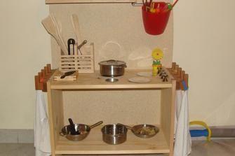 Come costruire una cucina per bambini di legno