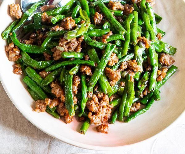 Stir Fried Snake Beans And Pork Recipe By Louis Tikaram Recipe Pork Recipes Pork Dishes Recipes