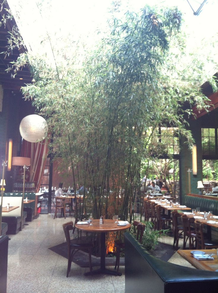 Fabulous interior at The Park Restaurant NYC!