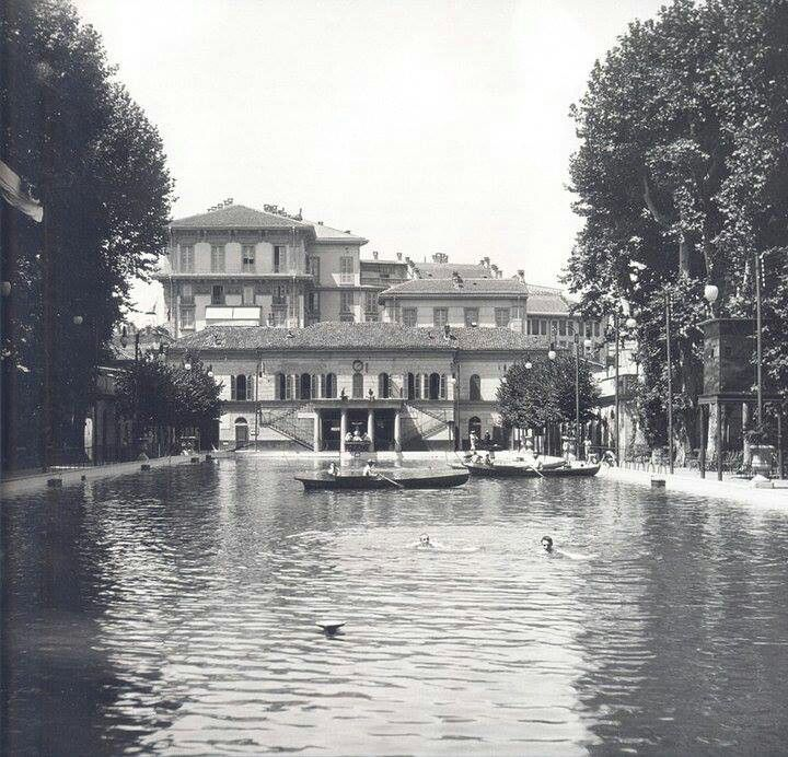 """Bagni Diana"" - The first pubblic swimming pool of Milano"