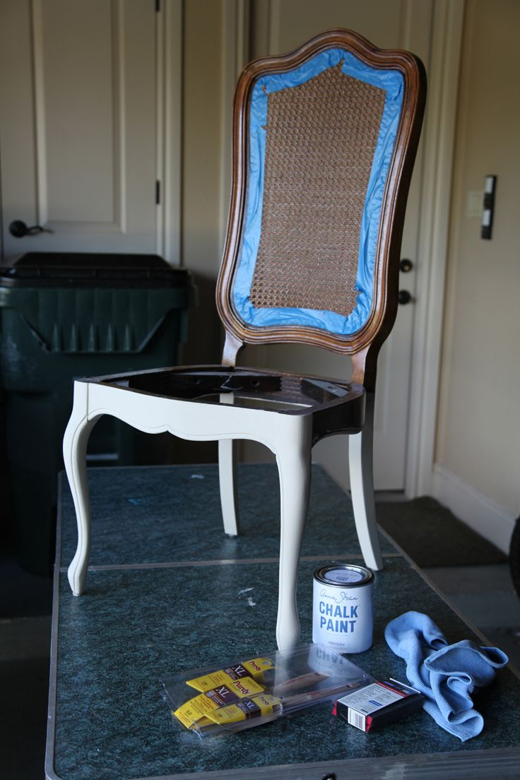 La*tee*da*kids: French Cane Chair Re Do DONE! Painted Dining ...