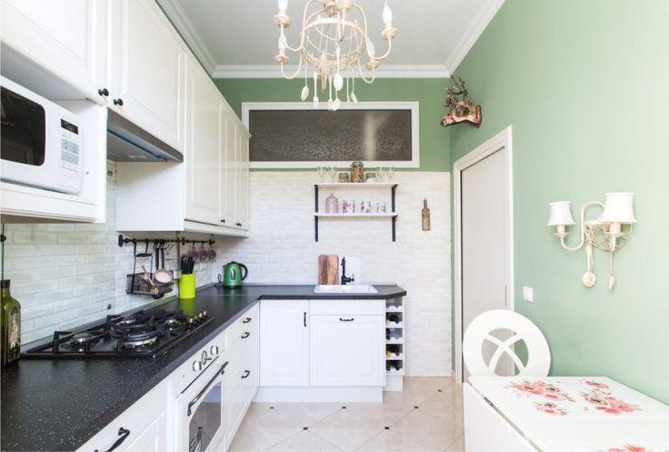 Оленья голова в интерьере кухни