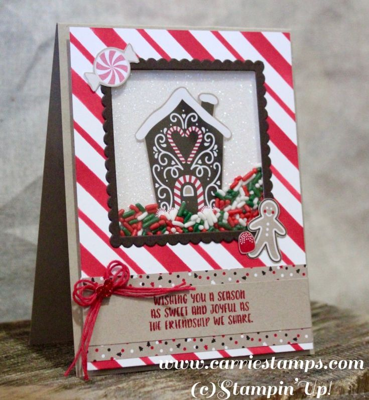 Sprinkles Shaker Card by cdrhoades - Cards and Paper Crafts at Splitcoaststampers