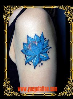 Blue Lotus Tattoo Meaning | See collection Lotus Tattoo: ORIENTAL FLOWER TATTOO PICTURES