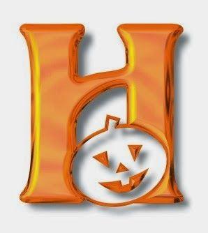 halloween alphabet stencils