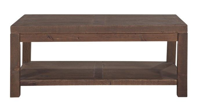stonemill small coffee table display
