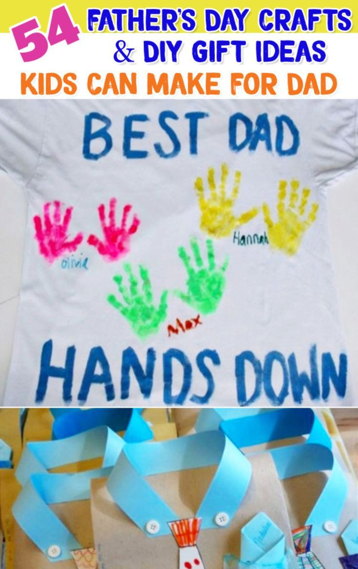54 Easy Diy Fathers Day Gifts From Kids And Fathers Day Crafts For