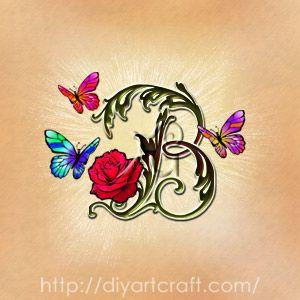 17 migliori idee su tatuaggi di farfalle su pinterest for Idee tatuaggi lettere