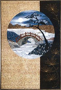 A large selection of quilt patterns from the Postcards From Japan collection by Story Quilts.