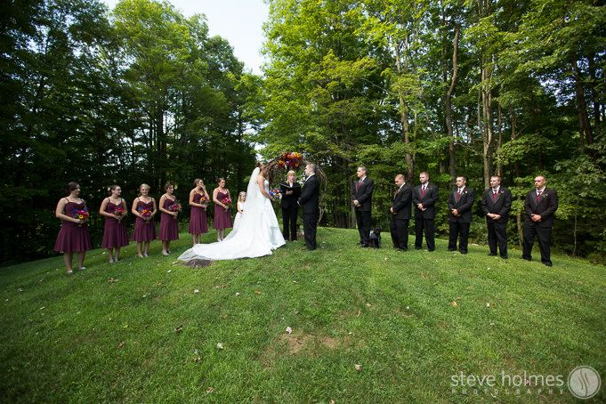 Stonewall Farm Outdoor Wedding Ceremony Photo By Steve Holmes Photography Stonewall Farm Outdoor Wedding Ceremony Outdoor Wedding