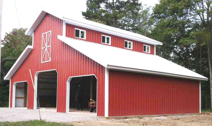 64 best bull strong pole barns images on pinterest barns for Monitor pole barn plans