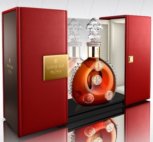 Baroque Liquor Bottles: Louis XIII Cognac Gets an All-New Luxe Look