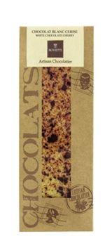 Bovetti 50g. Ciocolata alba cu cirese