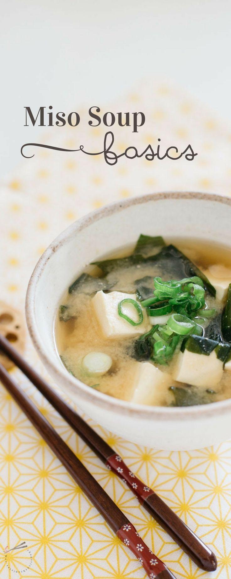 Miso soup basics