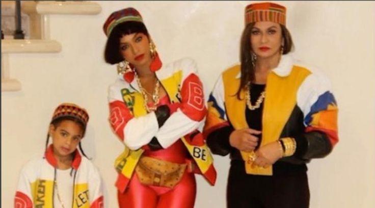 Beyonce & Family's Salt-N-Pepa Costumes Were Phat (PHOTOS) | Radio 94.5