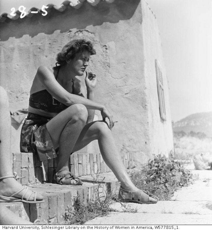Julia Child, Marseilles, 1950 - Paul Child