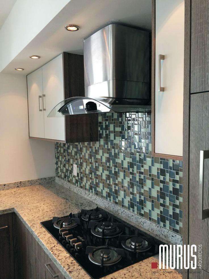 Combinación de texturas y colores #murus #kitchen www.facebook.com/murus.mx