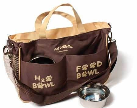Dog Travel Bag holds your dog's traveling by DogTravel on Etsy, $39.99