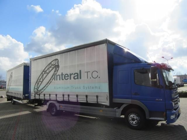 Mercedes-Benz Atego 8.23 Analog Tacho, Truck Flatbed + tarpaulin in VENLO, used buy on AutoScout24 Trucks