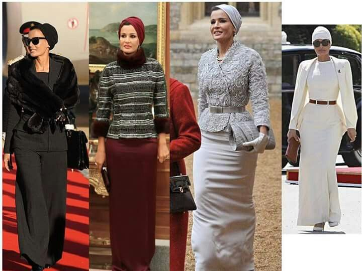 Sheikha Mozah Fashion Style Icon Sheikha Mozah Of Qatar Pinterest