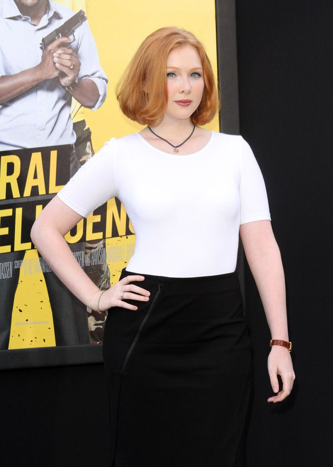 "Molly Quinn at ""Central Intelligence"" Premiere 2016"