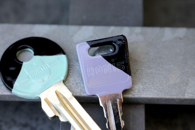 keys-paint-diy