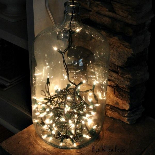 10 Images About Decorating And Uses For Demijohns On Pinterest Mercury Glass Jars Industrial