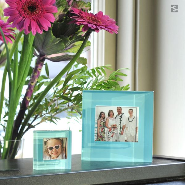 Blue Glass Frames, Home Accessories by Spaceform.