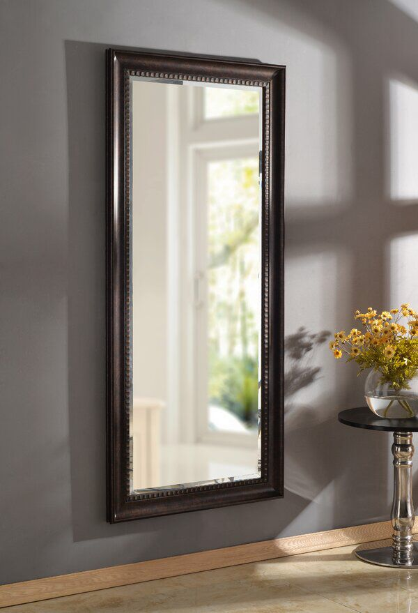 Brunswick Floor Rustic Beveled Distressed Full Length Mirror In 2020 Leaner Mirror Decor Mirror