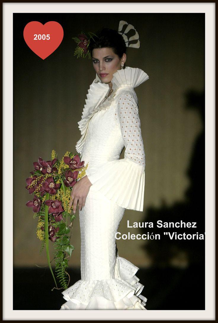 """Laura Sánchez en colección """"Victoria"""" 2005"""